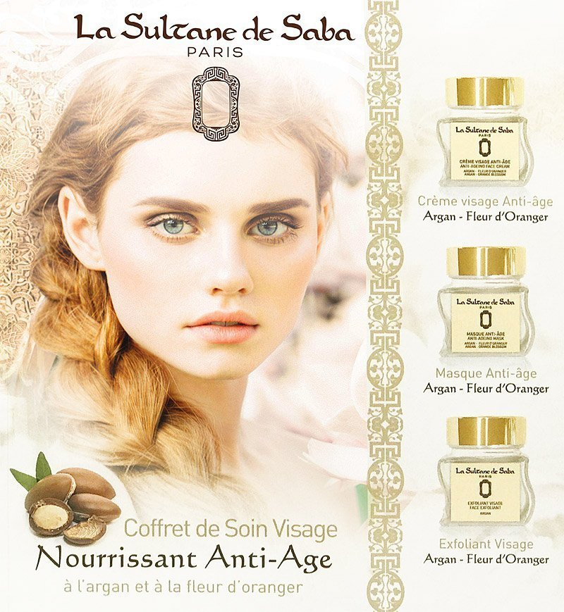 Argan Orange Blossom Face Set